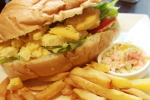 Cheese Salad Sandwich